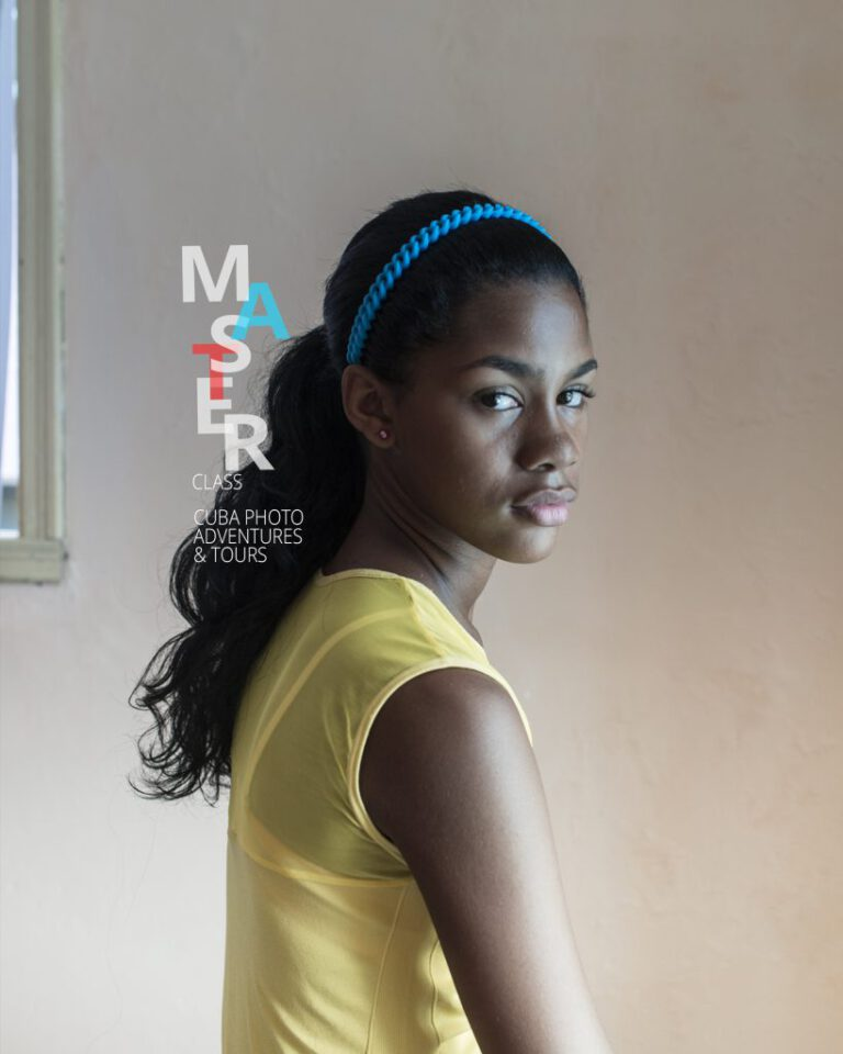 Young girl in Vedado.